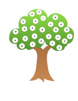 Apple Tree: ABC Match Game