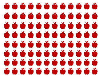 Apple Tree Addition Mat - Mini Eraser Mat