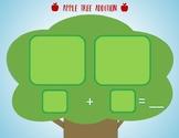 Apple Tree Addition Mat - Mini Eraser Mat