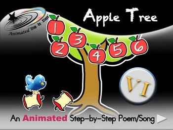 Apple Tree - Animated Step-by-Step Poem/Song - VI