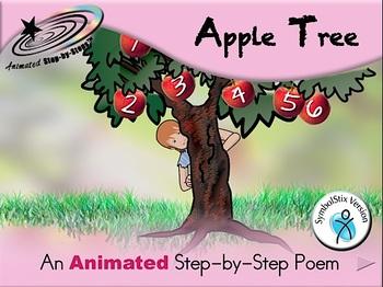 Apple Tree - Animated Step-by-Step Poem SymbolStix
