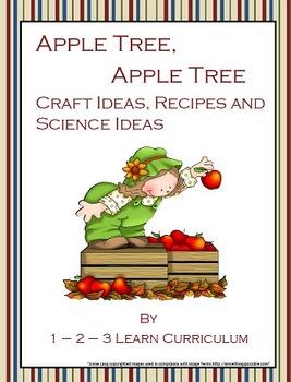 Apple Tree Apple Tree Craft Ideas By 1 2 3 Learn Curriculum