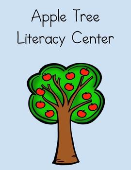 Apple Themed Literacy Center (Beginning Sounds)