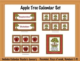 Apple Tree Calendar Set