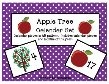 Apple Tree Calendar Set