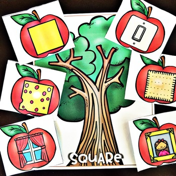 Apples ! Apple Tree Center - 2D and 3D Shapes