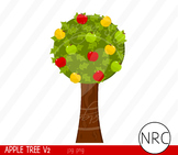 Apple tree clipart commercial use