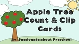 Apple Tree Count and Clip Cards