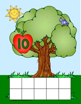 Apple Tree Counting Apples Mats