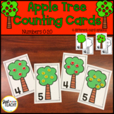 Apple Tree Counting Cards - Numbers 0-20
