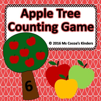 Counting Game - Apple Tree