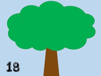 Apple Tree Counting Mats 1-20