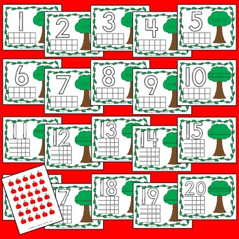 Apple Tree Counting Mats