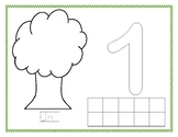 Apple Tree Counting Playdoh Mats (in French)