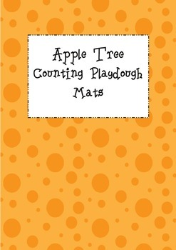 Apple Tree Counting Playdough Mats