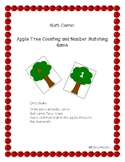 Apple Tree Counting and Number Matching Game