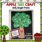 Apple Tree Craft with Fingerprints and Poem : Apple Crafts