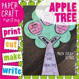 Apple Tree Craftivity {Main Idea and Detail}