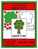 Apple Tree - Cut & Paste Craft - Super Easy Perfect for Pr