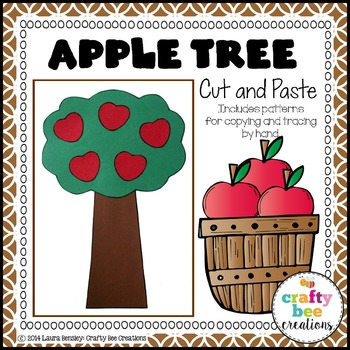 Apple Tree Cut and Paste