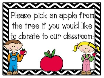 Apple Tree Donation Door