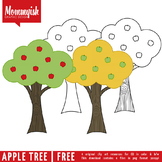 Apple Tree Freebie | Clipart