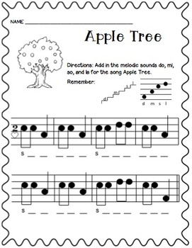 Apple Tree Freebies!