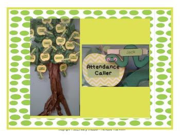 Job Cards - Apple Tree