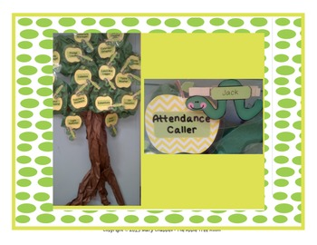 Job Cards - Apple Tree