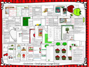 Apple Tree Lesson Plan with ECIPs Week 1