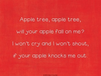 Apple Tree - Lesson, Pointing Pages and Rotten Apples Station