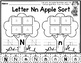 Apple Letter Sort (Uppercase and Lowercase Letter Sort)