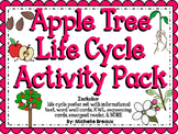 Apple Tree Life Cycle Activity Pack {science and literacy center printables}