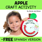 Apple Life Cycle Craft Activity