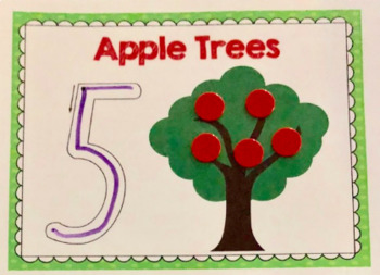 Apple Tree Number & Counting Mats 1-10