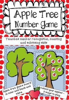 Apple Tree Number Game *FREEBIE*