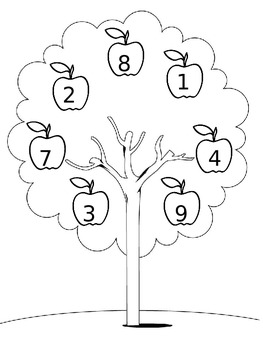 Apple Tree Number Matching
