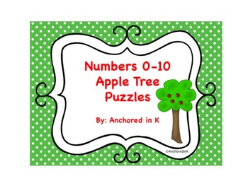 Apple Tree Number Puzzles 0-10