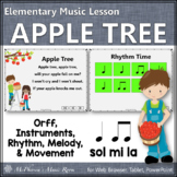 Apple Tree: Orff, Rhythm, Melody and More