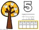 Apple Tree Play-Doh Mats - Numbers 0 to 20