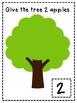 Apple Tree Playdough Mats