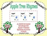 Apple Tree Rhymes Freebie