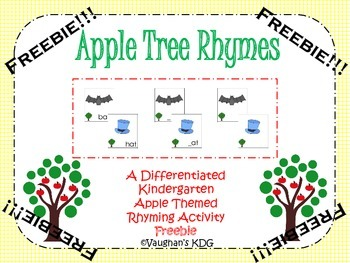 Apple Tree Rhymes Freebie