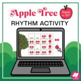 Music: Quarter Note and 8th Notes - Apple Tree Rhythm Acti