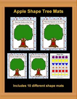 Apple Tree Shape Mats