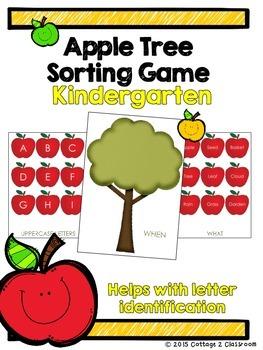 Apple Tree Sorting Game