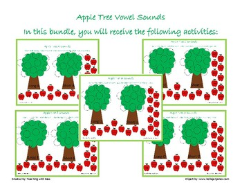 Apple Tree Sorting: Short and Long Vowel Sounds