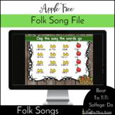 Apple Tree {Steady Beat} {Ta TiTi} {Do} Kodaly Method Folk Song File