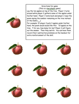 Apple Tree Subtraction Game