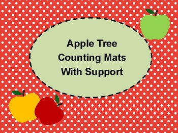 Apple Tree Supportive Counting Mats 1-20